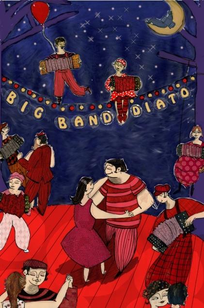 Affiche Big Band Diato