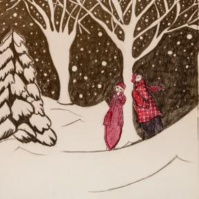 Que ça se démode pendant l'hiver les pt'ites robes qu'on porte à l'envers